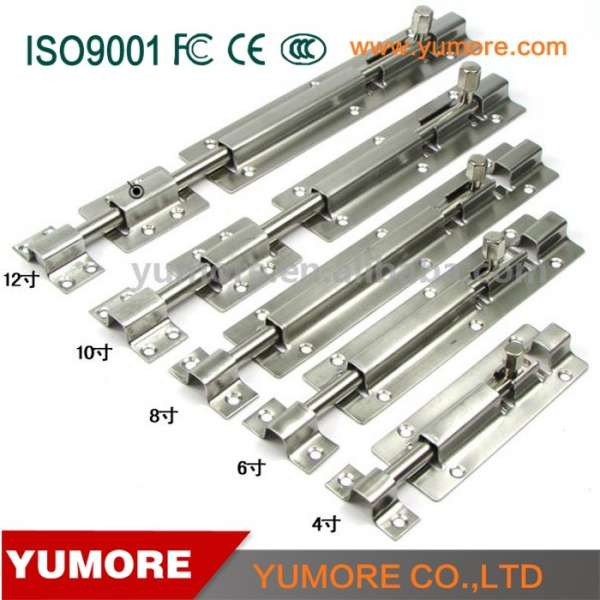 Made In China Stainless Steel Cabinet Door Bolts Window Latches