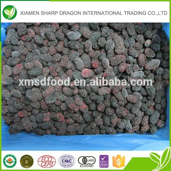 Factory price HACCP IQF frozen bulk mulberry fruit