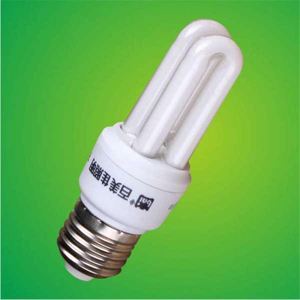 3w 2u紧凑型荧光灯/节能灯/ 2U节能灯/ 2U节能灯泡