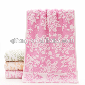 Wholesale home environment terry bamboo fiber bath beach towels