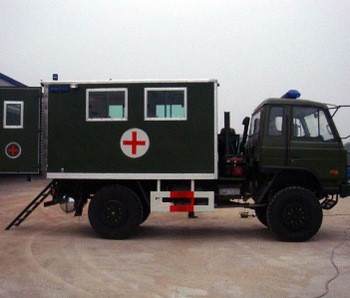 Dongfeng 4x4 Off-Road Military Ambulance Car Price 4WD