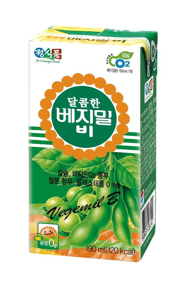Sweet Vegemil B food beverage and healthy Soy Milk-190ml
