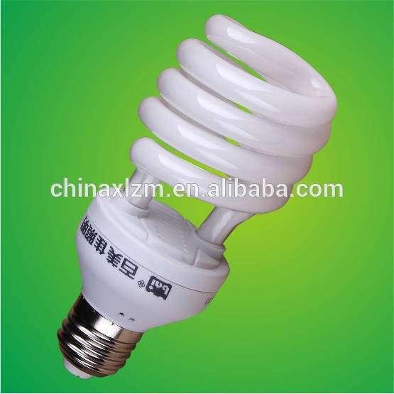 2015新设计的20w半螺旋节能灯紧凑型荧光灯、节能灯、节能灯泡