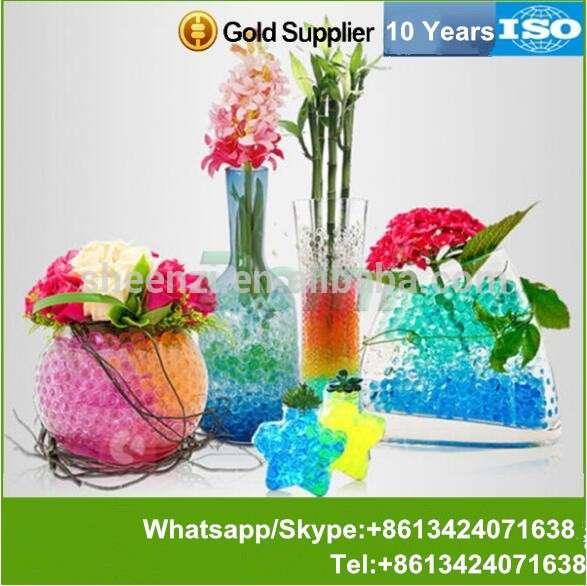 生物胶球水晶土/三维水珠/水晶土水珠花卉和室内植物,芳香