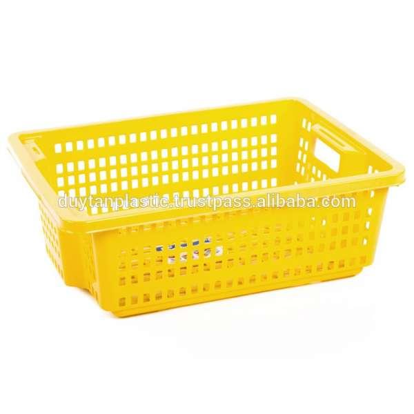 大矩形箱/家用塑料篮/折叠篮维新塑料越南