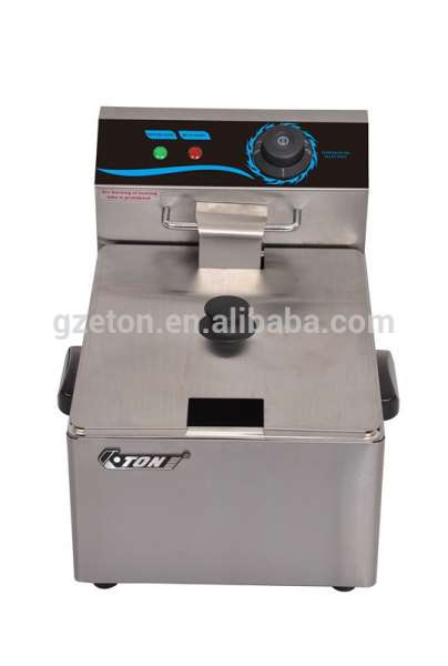 Commercial Stainless Steel Counter Top Electric Fryer