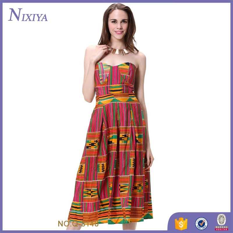 Maxi Long Dress Ladies Sexy Women Clothing African Clothes