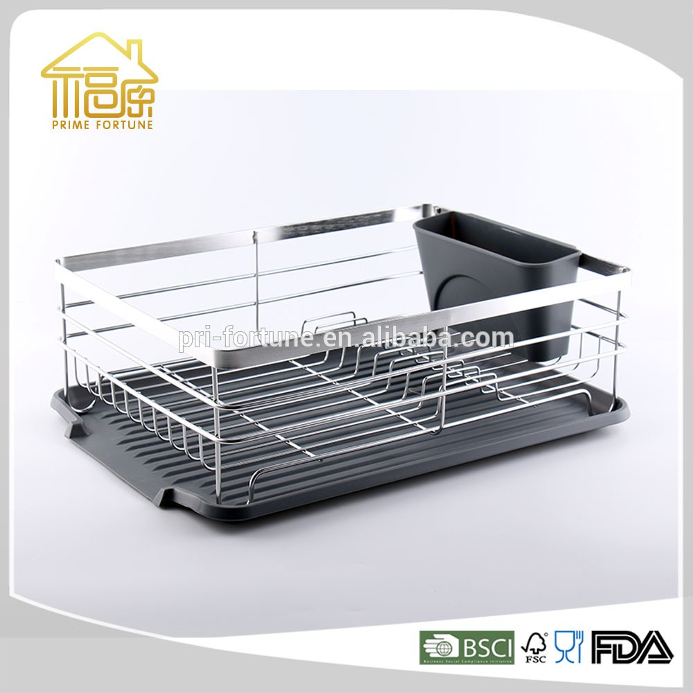 Stainless Steel Hot Sale Metal Wire Dish Rack Dish Drying Rack Wall ...