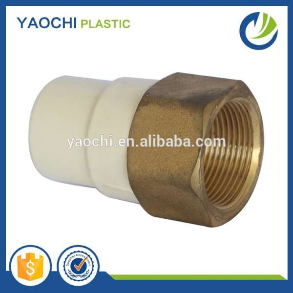alibaba website online shopping cpvc 2846 hot water pipe fitting brass female coupling