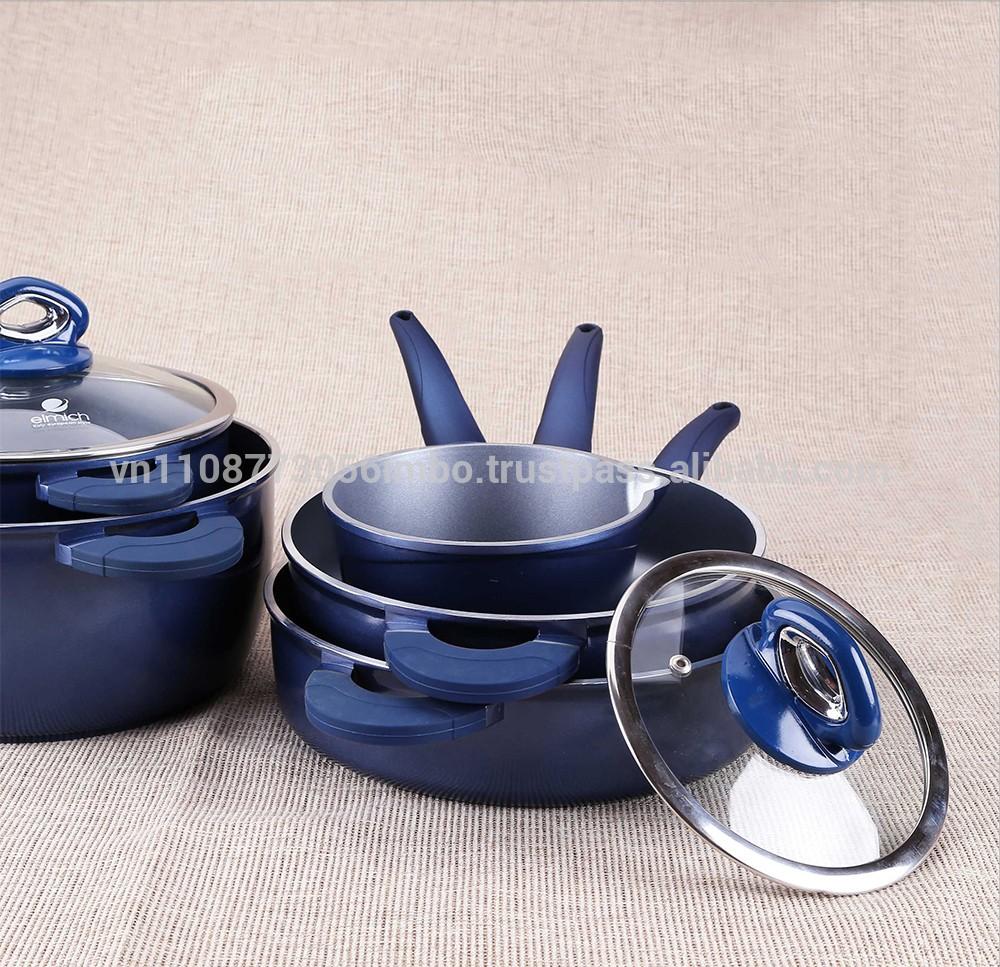 High Quality Eco-friendly Die Cast Aluminum Cookware