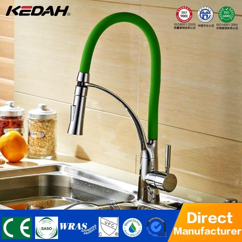 New Design 360 Rotation Kitchen Mixer Sink Taps Pull Down Kitchen ...