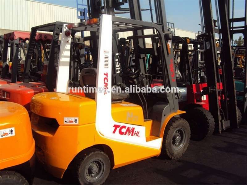2.5ton used TCM forklift FD25 for sale, 2.5ton used TCM forklift parts/price
