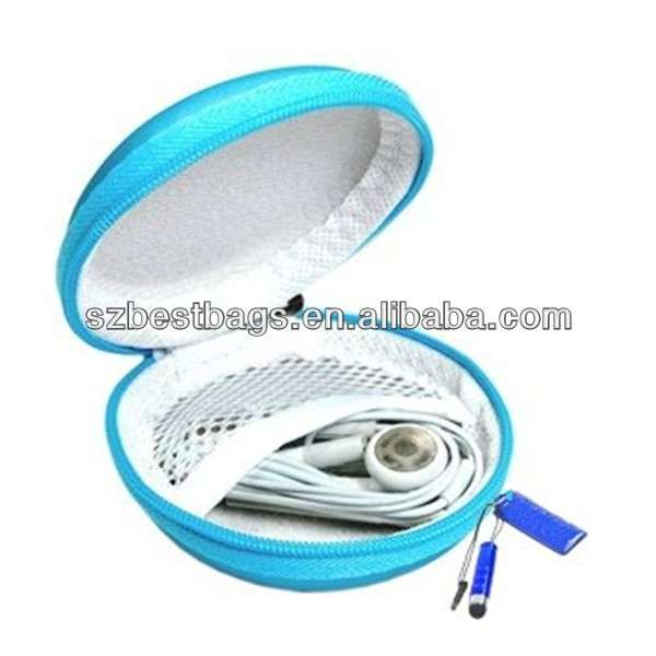 PU Leather Earphone Hard Case/bag/holder