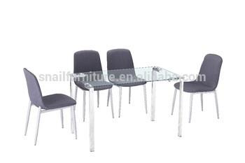 热门家庭家具餐桌玻璃现代