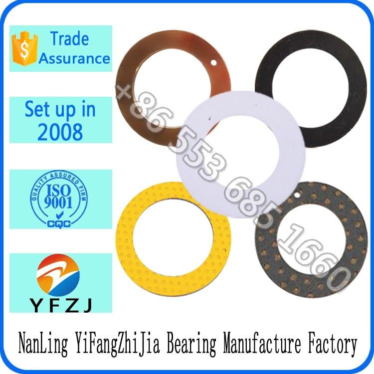 自lubriacting低摩擦塑料垫片和金属垫片