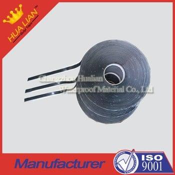 ISO 9001工厂生产纯丁基真空腻子胶带