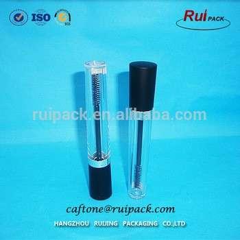 透明空化妆化妆塑料睫毛管