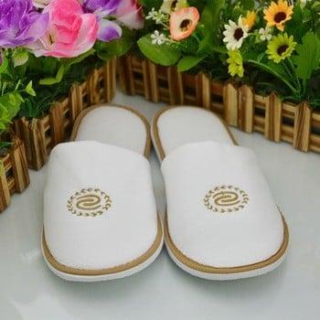 酒店热卖绣花设计男士凉鞋