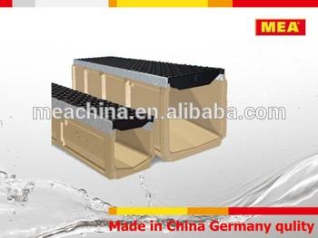 聚合物混凝土渠道不锈钢格栅排水沟聚合物混凝土渠道