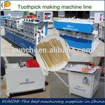 Multifunctional stick machine/wooden toothpick making machine/match stick