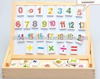 热销手工制作优质木制数学玩具