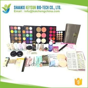 大量品牌彩妆永远化妆品廉价化妆套装/套装