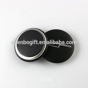 定制设计圆形金属锡冰箱磁铁,磁性按钮徽章