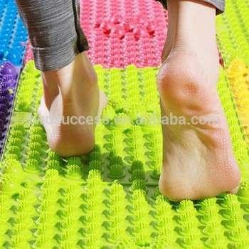 丰富多彩的天然橡胶针刺足部按摩垫按摩垫按摩瑜伽垫厂