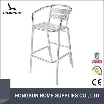 圆形拉杆椅铸铝户外家具