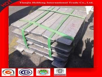 Widely used pure metal material lead ingots
