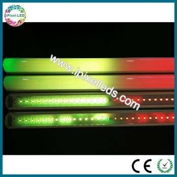 IP65 DMX LED洗墙灯外,高质量的LED护栏灯、铝箱的RGB LED灯管