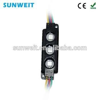 5050像素防水RGB贴片LED模块120度P16 LED模块