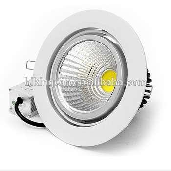 hikingwin批发嵌入式LED吸顶灯圆形5w 7w 12w调棒防水2W-30W的LED筒灯