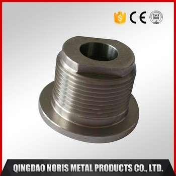 Mass production metal lock parts CNC lathe machining parts with machining center