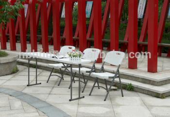 会议桌/长表/塑料展示台热塑塑料折叠桌