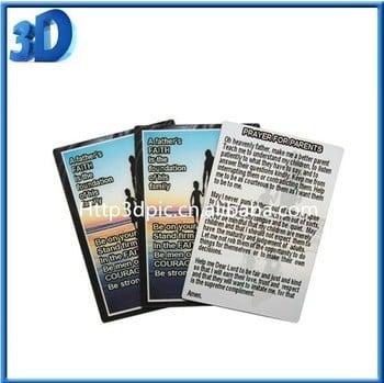 3d Lenticular Business Card Printing Sample Free