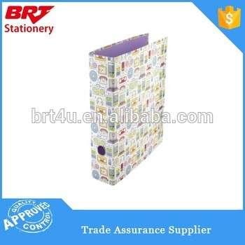 纸料花式图案A4尺寸拱杆文件夹