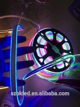 Flex的RGB LED霓虹灯,80led RGB SMD5050柔性霓虹灯15mm 16mm 20mm