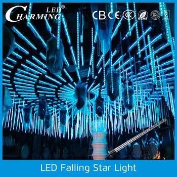 Led Shooting Star Icicle Disco Rgb Tube Light