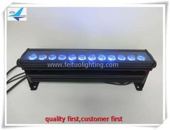 12x10w 50cm RGBW 4in1户外LED洗墙灯迷你LED洗墙