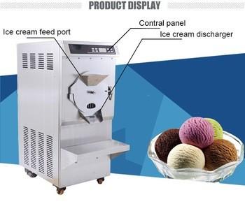 2017最畅销的硬冰淇淋机/批冰箱bkn-120