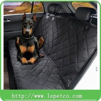 批发低价狗配件绗缝可洗豪华轿车座椅盖