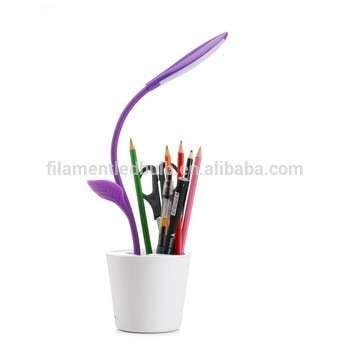 Sapling Pen-Holder Desk Lamp / Novelty LED Table Lamp / Rechargeable