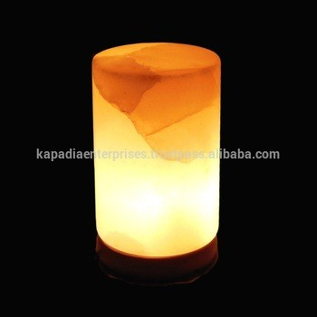 Himalayan Rock Salt Lamp With Electric cord and Bulb with Dimmer Switch