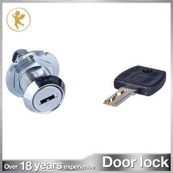 Unique design zinc alloy game coin door lock parts for vending machines