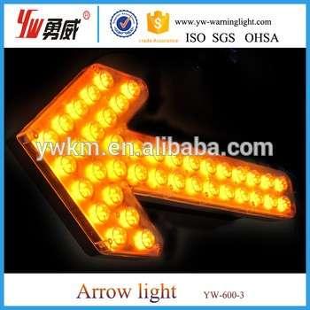 Big Size Traffic Advisor LED Arrow Light Led Directional