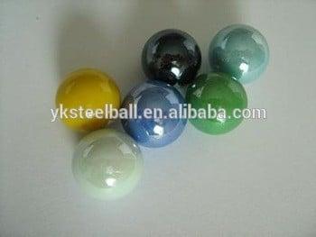 优质彩色玻璃大理石球