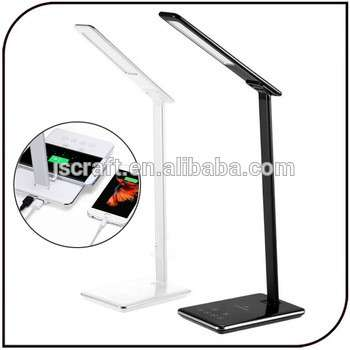启用无线充电器LED轻触式传感器可调亮度台灯