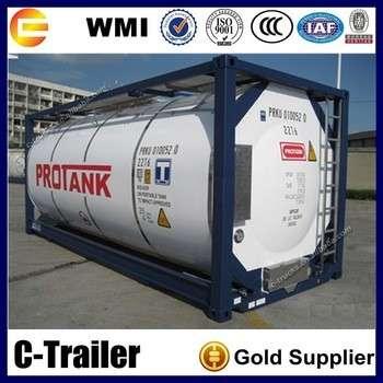 液化石油气ISO油轮集装箱脏
