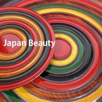 现代设计师家居装饰件漆漆板与日本手工艺在日本